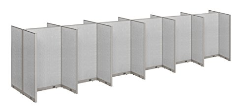 GOF Office Cubicle, Double 12 Stations 60D x 288W x 72h / Office Partition Wall Room divider Office Divider by GOF