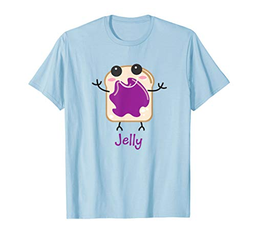 Jelly Matching Halloween Costume Set DIY Peanut Butter Shirt ()