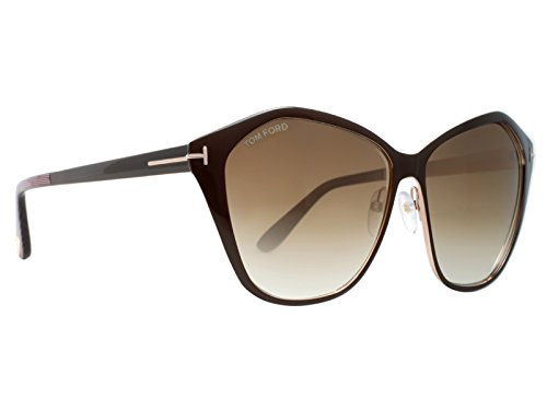 TOM FORD FT0391 48F - shiny dark brown / gradient brown - Ford Tom Women
