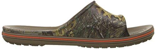 Xtra Realtree Walnut Crocs LoPro Unisex Slide CqnAag