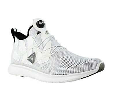 133aad591be Image Unavailable. Image not available for. Color  Reebok Pump Plus cage  White Black ...