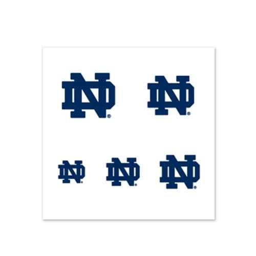 Notre Dame Fighting Irish Fingernail Tattoos - 4 Pack