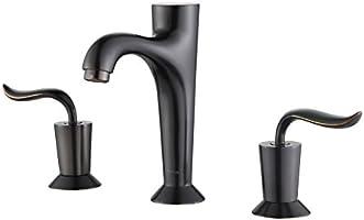 """Kraus FUS-13803ORB Coda Widespread 2-Handle Bathroom Faucet, 8"""", Oil Rubbed Bronze"""