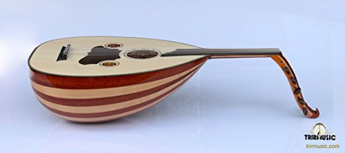 Turkish Quality Mahogany and Maple String Instrument Oud Ud AO-103