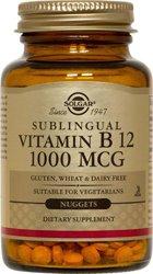 La vitamine B-12 Nuggets 1000mcg - 250 - Losange