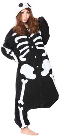 Amazon.com  Japanese Kigurumi Cosplay Pajamas - Skeleton by Sazac ... e87eb5ac67d63