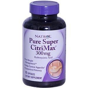 Natrol pure Super Citrimax, 500 mg, 90 capsules