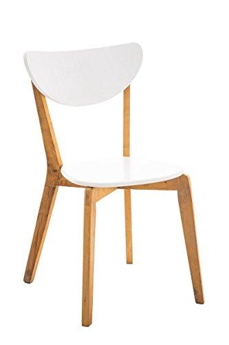 CLP Sedia da cucina / sedia per ospiti ARABIA con seduta ergonomica ...