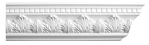 Designer's Edge Millwork DEM-146 Acanthus Crown Moulding 4-1/2