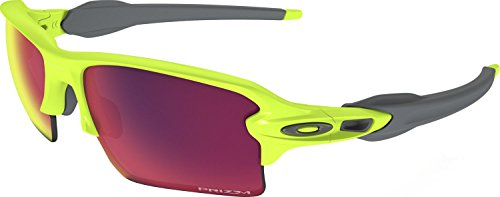 Oakley Men's Flak 2.0 Xl Non-Polarized Iridium Rectangular Sunglasses, Retina Burn, 59 - Oakley Sunglasses Yellow Frame