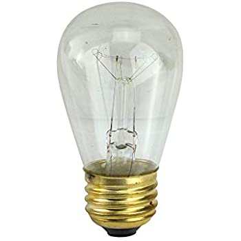 Northlight Pack of 25 Incandescent S14 Blue Christmas Replacement Bulbs
