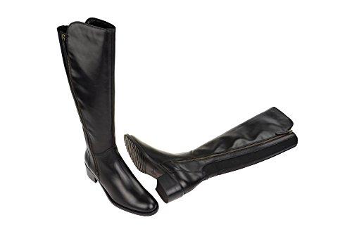 Botas para mujer, color Negro , marca CLARKS, modelo Botas Para Mujer CLARKS VALANA MELROSE Negro negro
