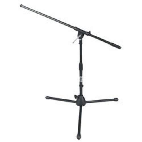 On-Stage MS7411B Short Drum/Amp Tripod Microphone Stand with Boom, Black