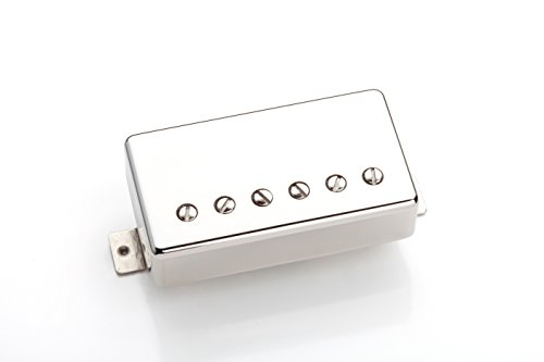 Seymour Duncan 59 Model Bridge Humb Nickel Cover - (Bridge Position) (Nickel Cover) (Model Bridge Position)
