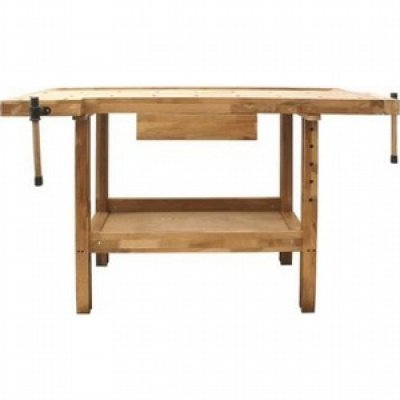 SIP Quality Oak Wood Wooden Timber Workshop Work Working Bench Table