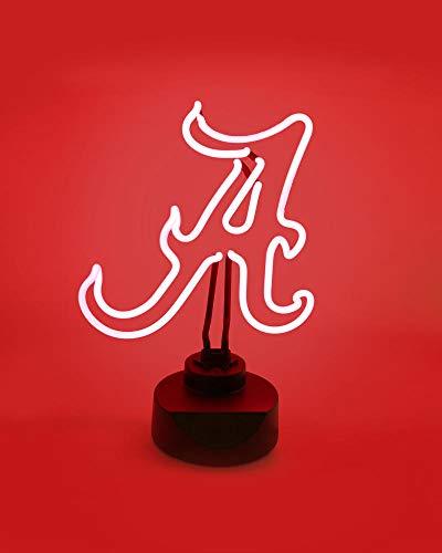 ALABAMA CRIMSON TIDE NEON SIGN LIGHT DISPLAY MAN CAVE OFFICE NCAA LICENSED NEW