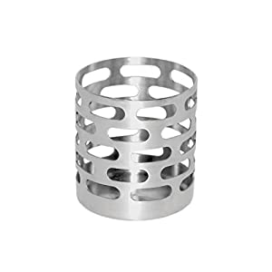 Steelworks Sugar Stick Holder, Brushed Stainless