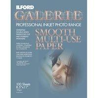 UPC 019498967184, ILFORD 1967184 A4 / 8.5inx11in Inkjet Multi-Use Paper ? 100 Sheets