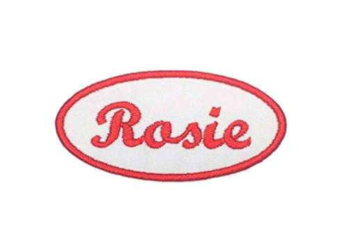Rosie The Riveter Name Patch For Costumes - Iron On Or Sew On! -
