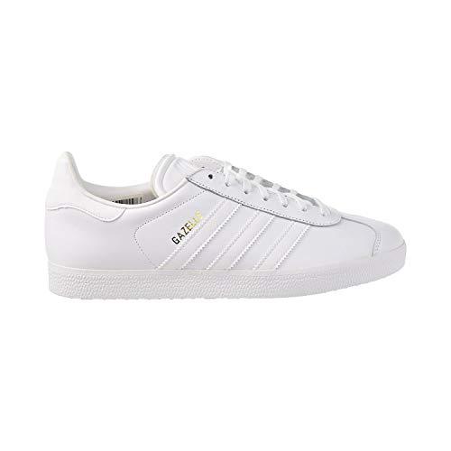 (Adidas Originals Men's Gazelle Lace-up Sneaker,White,13 M US)
