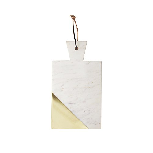 American Atelier 1810041 Marble Cutting Board, White