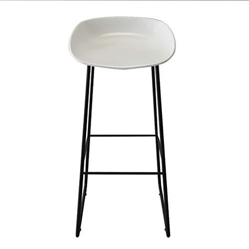 Superb Amazon Com Mlx Bar Stool Nordic High Stool Wrought Iron Bralicious Painted Fabric Chair Ideas Braliciousco