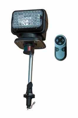 Stanchion Mounted Flood Light