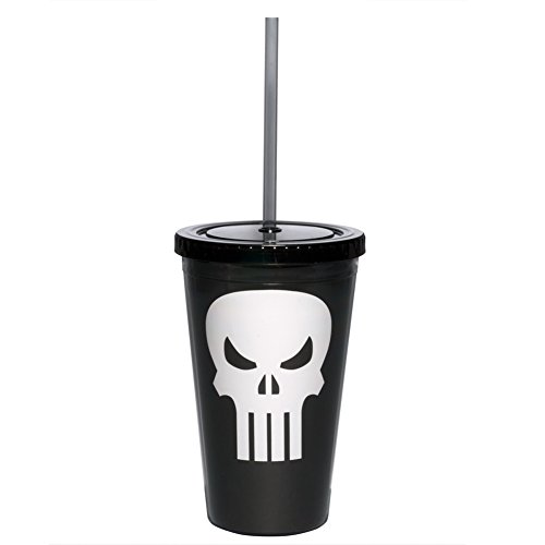 Marvel Acrylic Cup Punisher Symbol ()