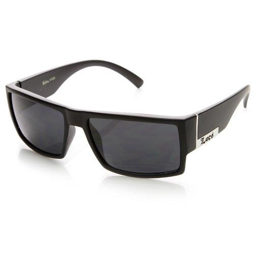 Locs Eyewear - Locs Hardcore Shades Brand Classic Rectangular Sunglasses - Best Brand Shades