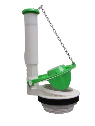 (Keeney Manufacturing K835-12 Plumb Pak Toilet Flush Valve, 3 In White, Green)