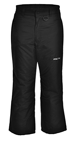 Arctix Youth Snow Pants, Large, Black