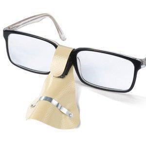 Nose Protector for Glasses in Beige by Breitfeld & Schliekert