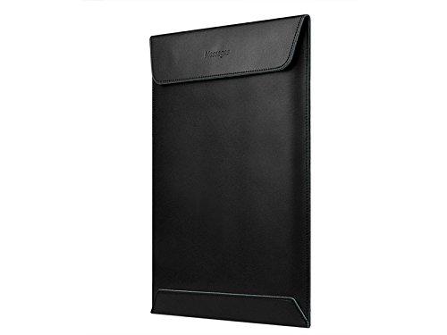 Yunqir Multi-functional 15 Inch Unisex PU Leather Tablet Laptop Bag Handbag Computer Inner Bag Envelope Bag