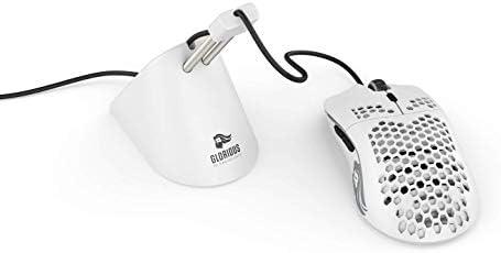 Glorious Model O Gaming Mouse, Matte White (GO-White)