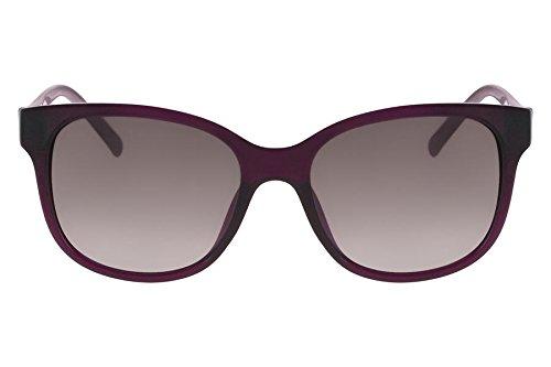 Óculos De Sol Nine West Nw570S 515/54 Roxo Transparente