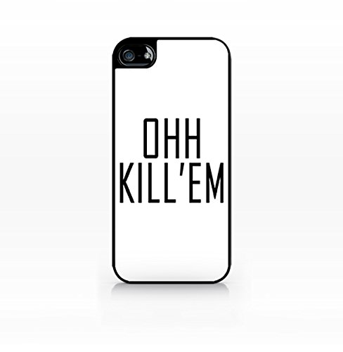 Cream Cookies - Typography Pattern Case - Ohh Kill 'Em Sassy Case - Apple iPhone 5C Case - Apple iPhone 5CS Case - TPU Case - Hard Rubber Case