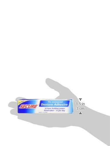 Fittydent Super- Pasta adhesiva (Operación intensa prolongada solo diariamente, resistente al agua), 40 gr: Amazon.es: Salud y cuidado personal