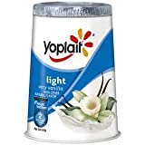 YOPLAIT YOGURT LIGHT VERY VANILLA ORIGINAL 6 OZ PACK OF 8