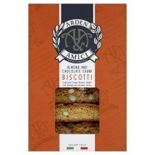 Arden and Amici Almond and Chocolate Biscotti 180g - Pack of 4