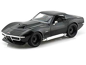 Corvette Stingray 1969 >> 1969 Chevy Corvette Stingray Zl 1 1 24 Black Amazon In