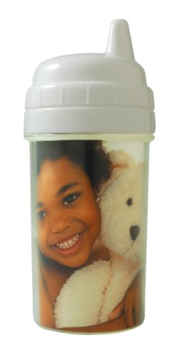 Create Your Own Photo Sippy Cup (10 oz, White)