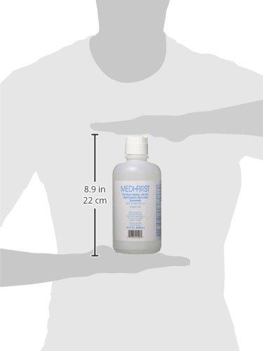 Medi-First 21526 Medi Wash Eye Saline Bottle, 32-Ounce by Medique (Image #3)