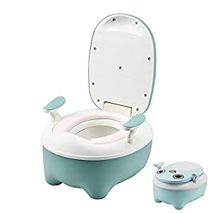 Recoefdo Baby Potty Training Toilet, All-in-One Potty,Toilet Trainer with lid,Potty Training seat for Boys and Girls,Step…