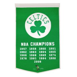 Boston Celtics NBA Dynasty Banner - Celtics Championship Banner