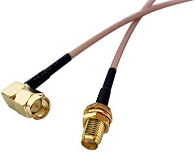 RG316 SMA MALE to RCA MALE Coaxial RF Cable USA-US