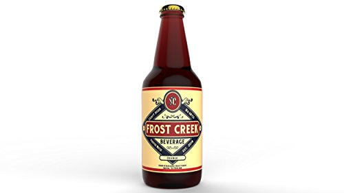 Craft Soda Root Beer 12 Pack Frost Creek Root Beer | Pure Cane Sugar Drink | Caffeine Free | Triple Filtered Water ()