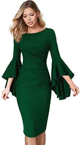 dac378f2 Shopping Greens - Boat Neck - Dresses - Clothing - Women - Clothing ...