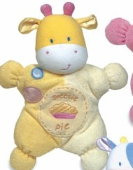 Kids Preferred Comfort Cuddly Rattle Toy-Yellow