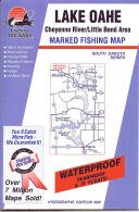 Lake Oahe Fishing Map: Cheyenne River/Little Bend Area (South Dakota Fishing Series, ()
