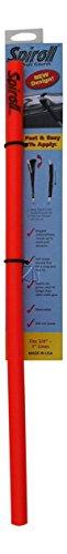Spiroll Chafe Guards - Single, Orange 23.5
